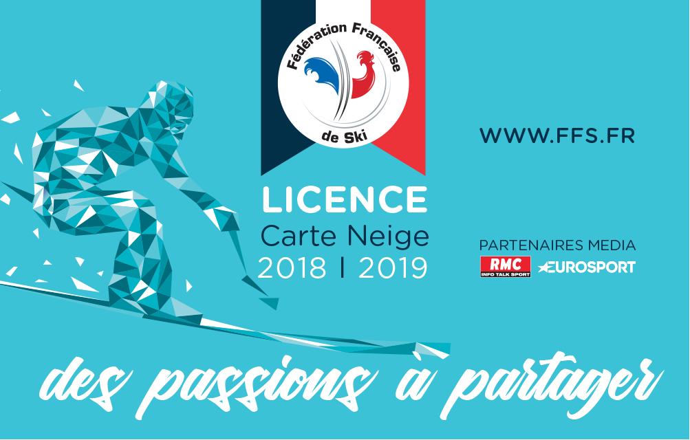 License carte neige 18 19