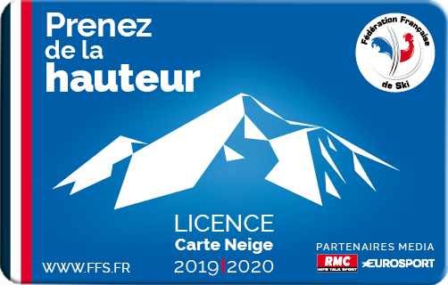 License carte neige 18 19
