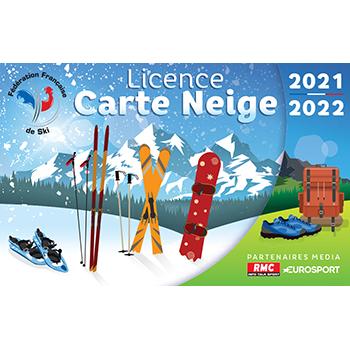 Licence Carte Neige 18 19